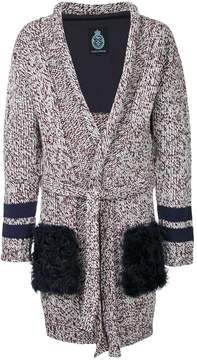 GUILD PRIME flecked cardi-coat
