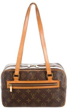 Louis Vuitton Monogram Cite MM - BROWN - STYLE