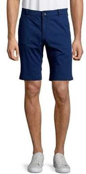 Selected Straight-Fit Cuffed Shorts