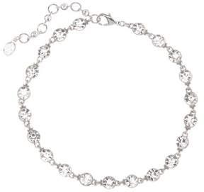Ben-Amun Bezel Set Swarovski Crystal Accented Choker Necklace