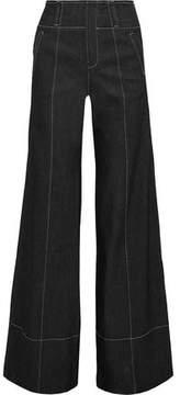 Cinq à Sept Talia High-Rise Wide-Leg Jeans