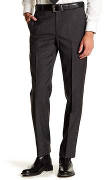 Brooks Brothers Solid Flat Front Pants - 30-34\ Inseam