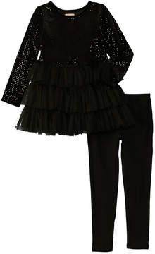 Nanette Lepore Girls' Velour Knit Set