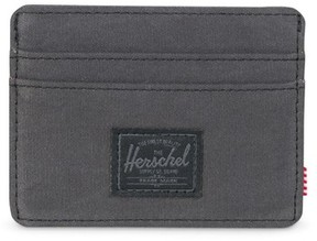 Herschel Men's Charlie Card Case - Black