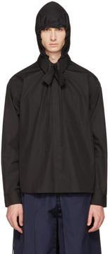 Craig Green Black Hooded Shirt