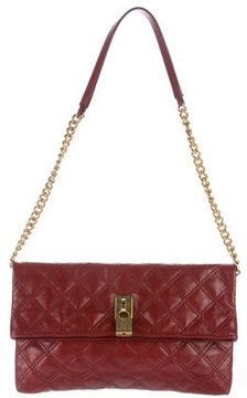 Marc Jacobs Quilted Leather Shoulder Bag - RED - STYLE