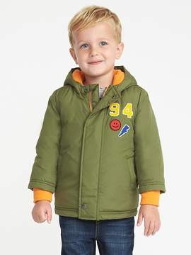 Old Navy Embroidered-Patch Jacket for Toddler Boys
