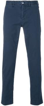 Jacob Cohen Academy mid-rise straight-leg trousers
