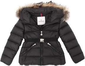 Moncler Aimettee Hooded Nylon Down Jacket