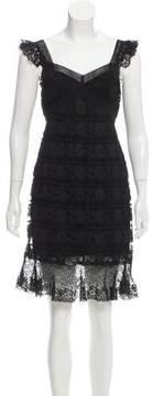 Anna Sui Lace Mini Dress