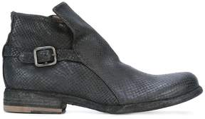Officine Creative Legrand zip ankle boots