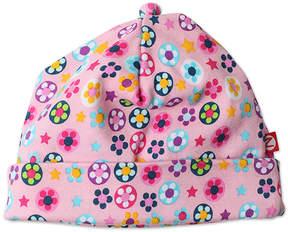 Zutano Pink Flower Shower Beanie - Infant