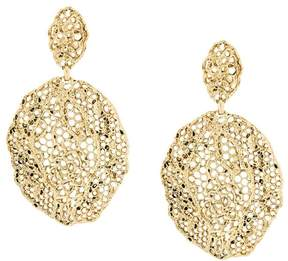 Aurelie Bidermann Vintage Lace clip-on earrings