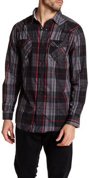 Burnside Plaid Regular Fit Shirt