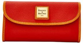 Dooney & Bourke Eva Continental Clutch Wallet - RED - STYLE