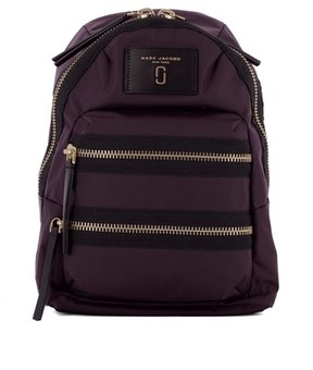 Marc Jacobs Women's Purple Fabric Backpack. - PURPLE - STYLE