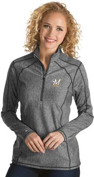 Antigua Women's Milwaukee Brewers Tempo Pullover