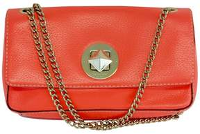Kate Spade Small Bright Coral Leather Chain Bag - CORAL - STYLE