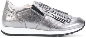 Tod's fringed slip-on sneakers