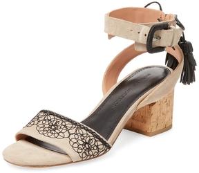 Sigerson Morrison Women's Riva Suede Sandal
