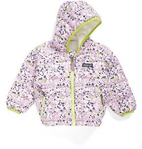 Patagonia Infant Girl's Reversible Down Sweater Hoodie