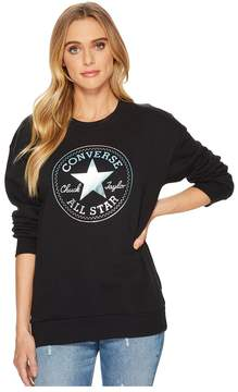 Converse Shine Pack Graphic Oversized Crew Women's T Shirt