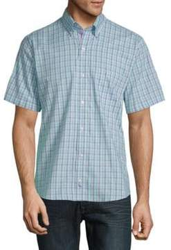 Tailorbyrd Archie Cotton Button-Down Shirt