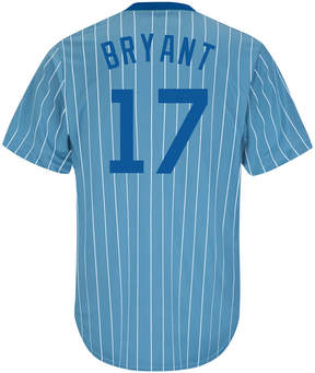 Majestic Men's Kris Bryant Chicago Cubs Cooperstown Player Replica Cb Jersey