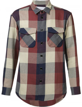 Julien David flap pocket shirt