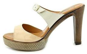 Callisto Women's Layla Open Toe Slide Heels.