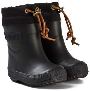 Bisgaard Thermo Wool Rubber Boot Black