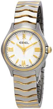 Ebel Wave White Dial Ladies Watch