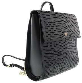 Roberto Cavalli Backpack Audrey 004 Black Backpack.