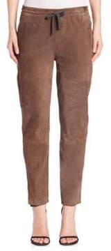 Eleventy Suede Drawstring Pants