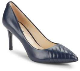 Karl Lagerfeld Roulle Leather Point-Toe Pumps