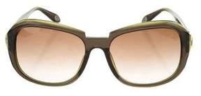 Givenchy Logo-Embellished Oversize Sunglasses