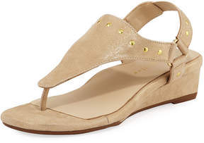 Bettye Muller Concept Kent Low-Wedge Studded Sandal