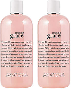 philosophy Amazing Grace Shampoo, Bath & Shower Gel - Set of Two