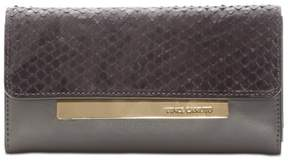 Vince Camuto Womens Ensie Leather Mini Clutch Wallet