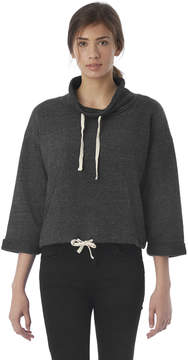 Alternative Apparel Funnel Neck Eco-Fleece Sweatshirt