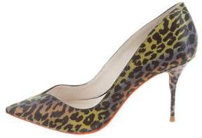 Sophia Webster Iridescent Printed Pumps
