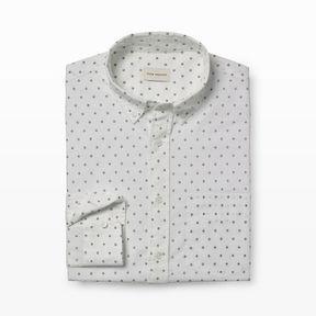 Club Monaco Slim-Fit Micro Geo-Dot Shirt