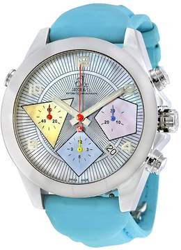 Jacob & co Jacob and Co. Automatic Chronograph Mother of Pearl Dial Men's Watch