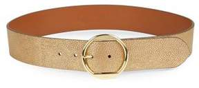 Lauren Ralph Lauren Textured Leather Belt