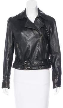 Edun Leather Moto Jacket