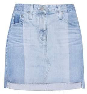 AG Jeans The Sandy denim miniskirt