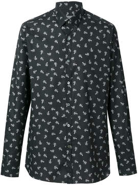 Lanvin Lobster print shirt