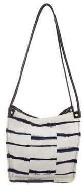 Proenza Schouler Leather-Trimmed Small Tote