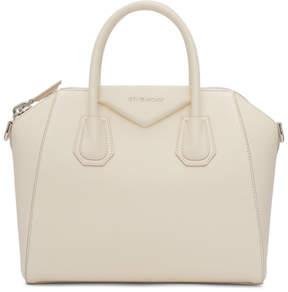 Givenchy Off-White Small Antigona Bag