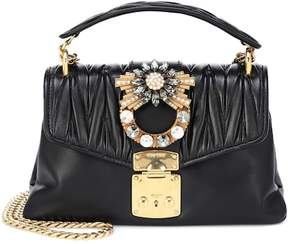 Miu Miu Matelassé leather shoulder bag